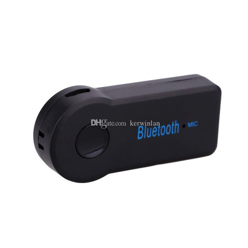 Universal 3.5mm Bluetooth Car Kit A2DP Wireless Music Receiver Handsfree with Mic For Phone MP3 BT310