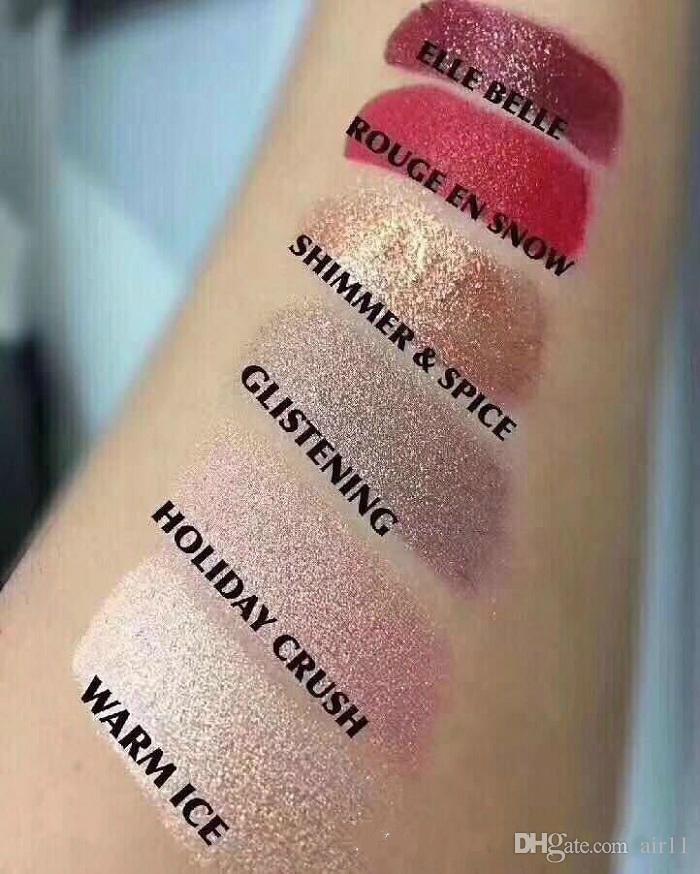 Snow Ball Lipstick Matte Lipstick Holiday Crush Elle Belle Shimmer Glitening 3g Dhl Free Ship