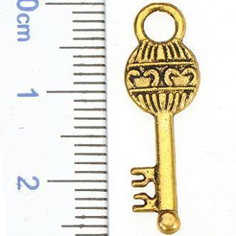 fai da te anti charms in oro gioielli risultati bracciali donna uomo ciondoli collane chiavi miste grande piccolo cuore in metallo moda 200 pz