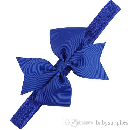 New sections in Europe and America bow baby hair of children with handmade hair accessories elastic headband