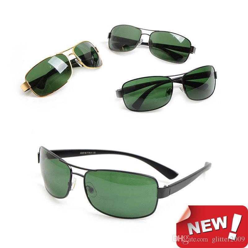 Nuevas gafas de sol de marca Diseñador de gafas de sol para hombre gafas de sol para mujer 3379 Lentes de vidrio Gafas de sol gafas unisex vienen con caja glitter2009