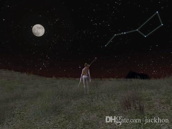 - N043 Big Dipper Necklace Zodiaco Siete Estrellas Collar Space Outer Space Alaxy Planet Necklace Sistema solar Collares