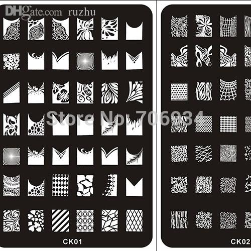 Wholesale nail stamping plates stamper konad nail plate stamp see larger image prinsesfo Images