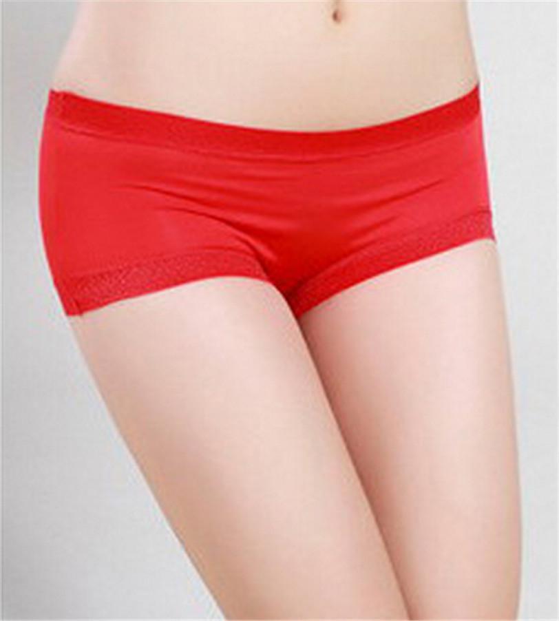 Online Cheap Best Seller Women Sexy Panties Satin Boy Shorts ...