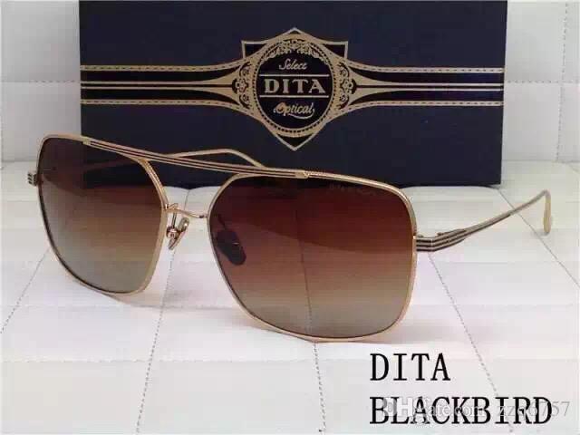 cdcdc6c378 New DITA Sunglasses Dita Blackbird Square Shape Metalline Legs for ...