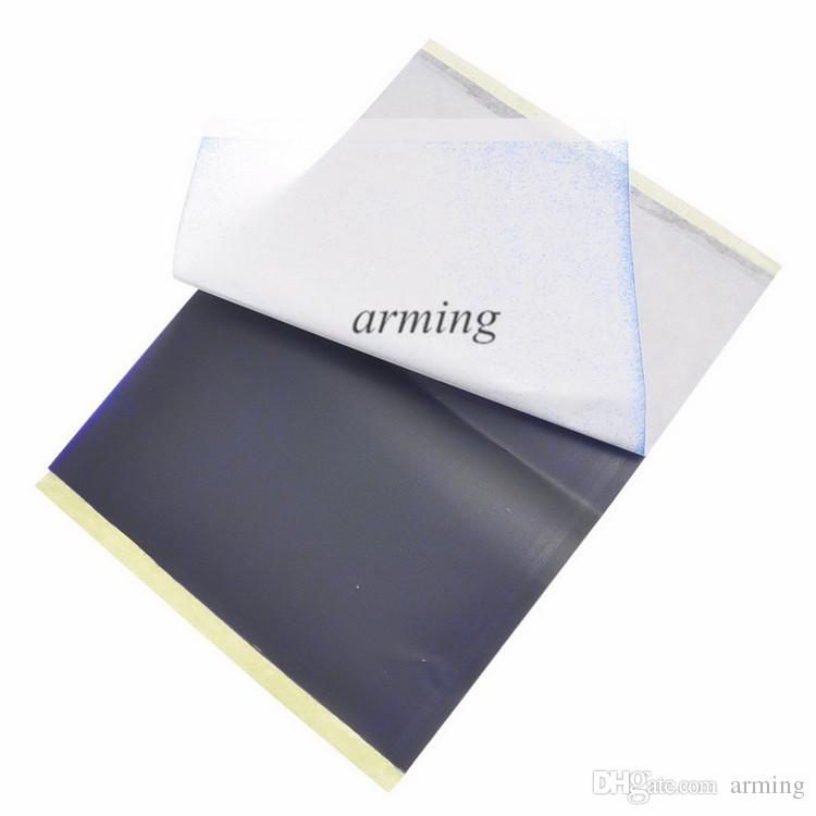 Pro 1 Sheets A4 Tattoo Transfer Stecial Paper Spirit Master For Thermal Stencil Machines 4-layers Papers