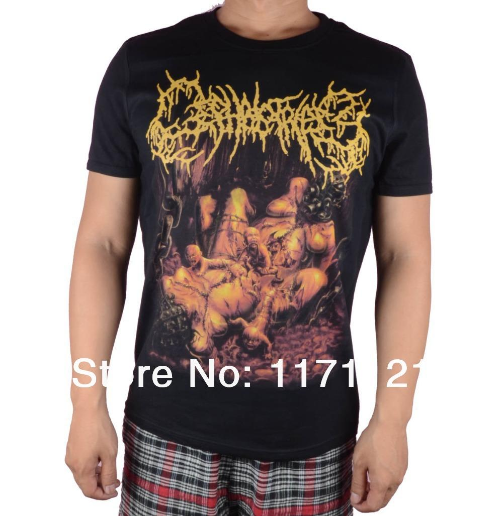 Cephalotripsy Insertion Death Metal T Shirt Size:S Xxxl Designer ...