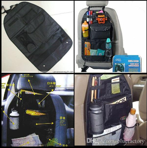 Car Back Seat Organizer Collector Storage Container Multi