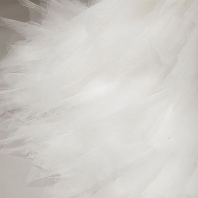 레이스 깃털 인어 공주 V 목 웨딩 드레스와 Appliques 2016 등을위한 법원 훈련 웨딩 가운 실제 사진