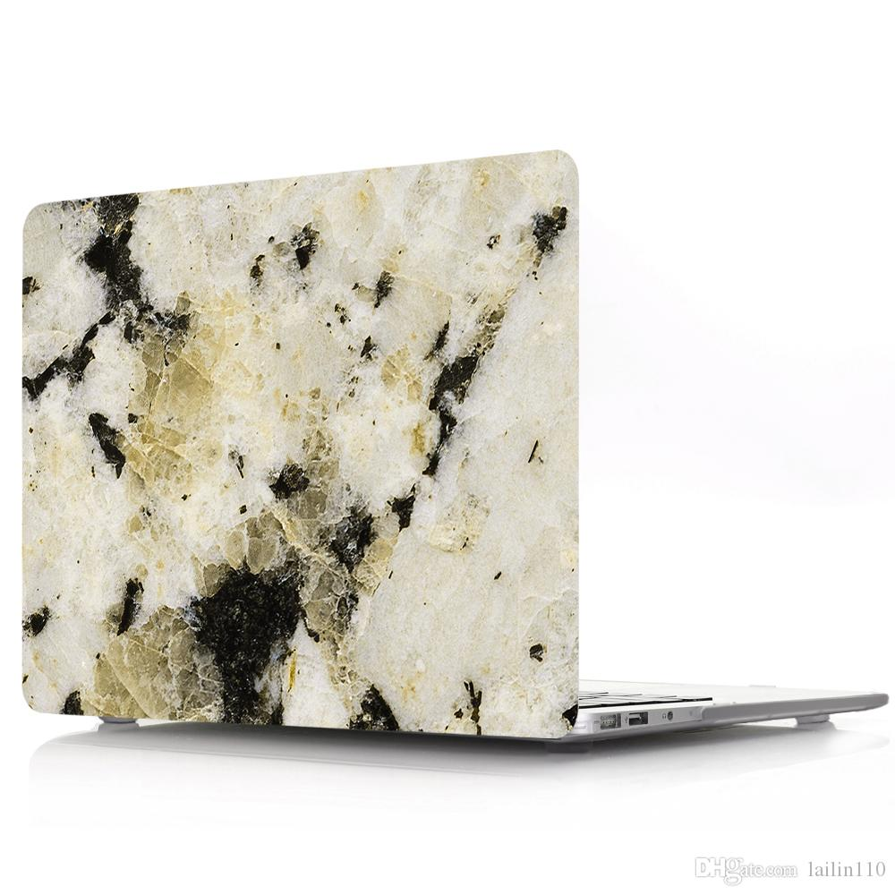 Marble-3 Oil painting Case for Apple Macbook Air 11 13 Pro Retina 12 13 15 inch Touch Bar 13 15 Laptop Cover Shell
