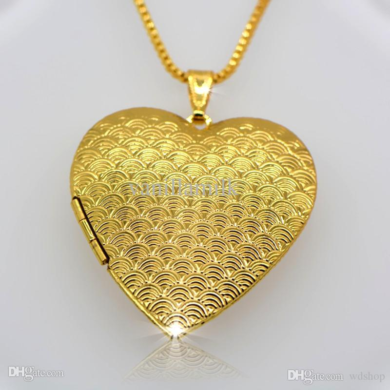 Wholesale wholesale 18 k gold classic heart shaped box pendants can wholesale wholesale 18 k gold classic heart shaped box pendants can pack perfume cotton and photos fashion jewelry gift for woman p30035 necklace charm aloadofball Choice Image