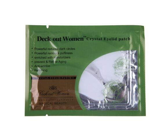 Deck Out Women Crystal Eyelid Patch Anti-wrinkle Crystal Collagen Eye Mask Remove Eye Dark Circles Moisturizing Eye Mask