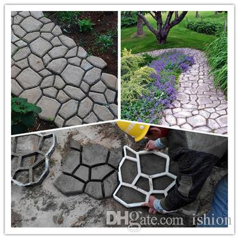 2017 Diy Concrete Walkway Mold Garden Supplies Pathway Mould For Making  Pathways Of Your Garden/Paving Mold/Concrete Mold From Ishion, $8.85 |  Dhgate.Com