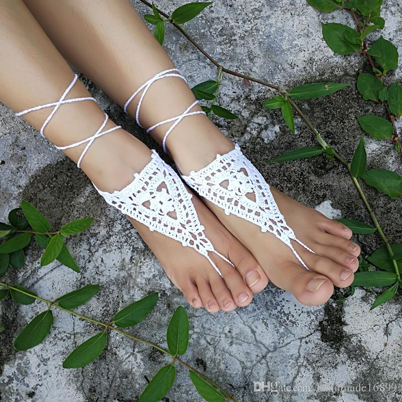 213364d6a OR Hand Crochet Barefoot Sandals