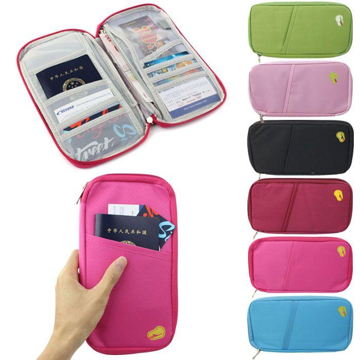 Travel Bag Pouch Passport ID Credit Card Wallet Cash Holder Organizer Case  Box  Wholesale Flat Wallets Womens Credit Card Holder Wallet From  Xingyan01 c3b65419f