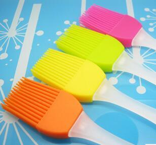 Silicone Basting Cooking Pastry Brush Kitchen heat resistance silicone BBQ brush
