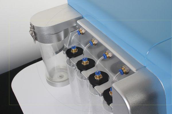 2 in 1 hydro dermabrasion hydro microdermabrasion 물 dermabrasion 기계 박리 기계 전문 2 세트 수력 팁