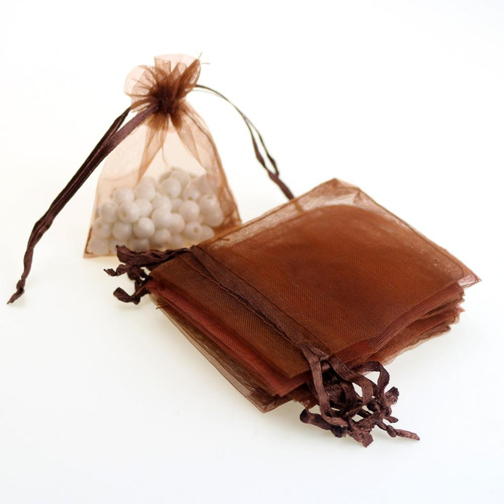 2019 7x9cm Brown Organza Jewelry Gift Bags Small Drawstring Bag Cheap Wedding Gift Bags Customed Logo Printed Wholesale From Xiuping2 $12.66 | DHgate.Com  sc 1 st  DHgate.com & 2019 7x9cm Brown Organza Jewelry Gift Bags Small Drawstring Bag ...