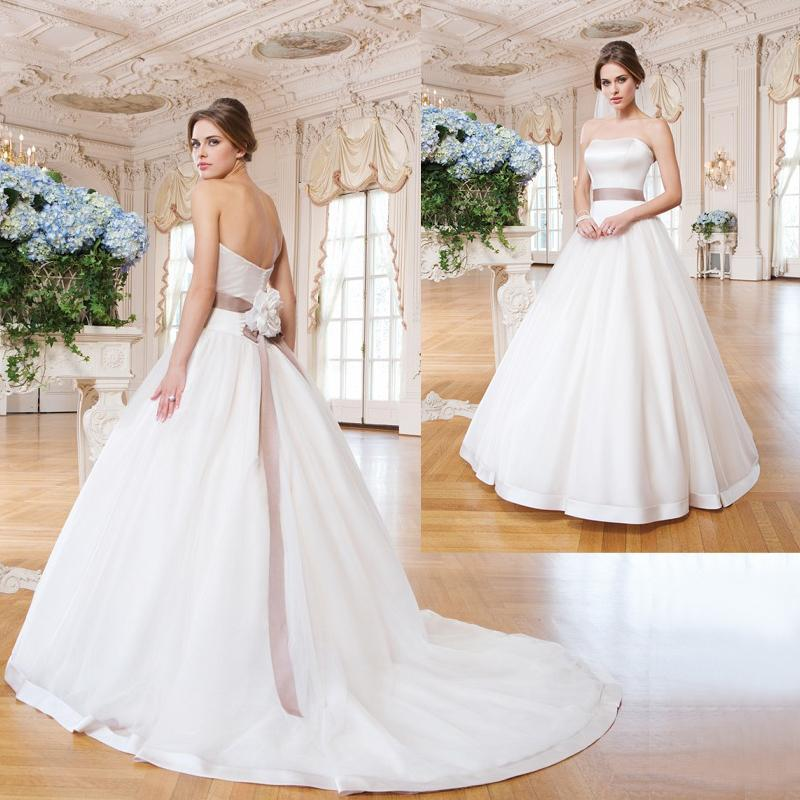 Discount Simple Wedding Dresses Cheap A Line Bridal Gowns