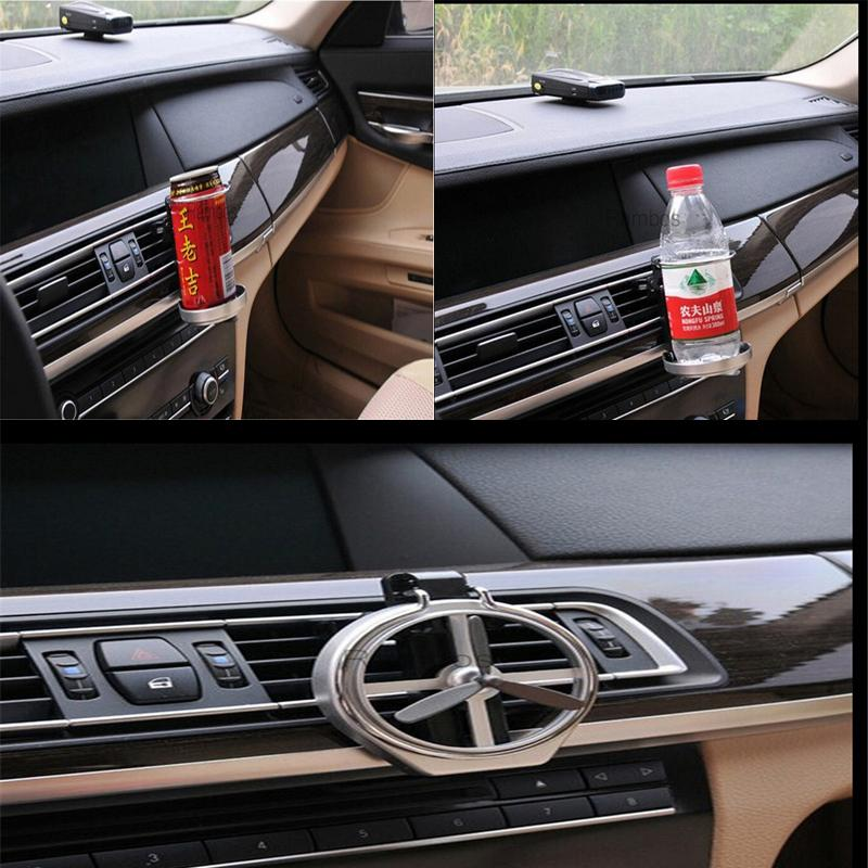 Universal Folding Air Conditioning Inlet Auto Car Drink Holder Car ...
