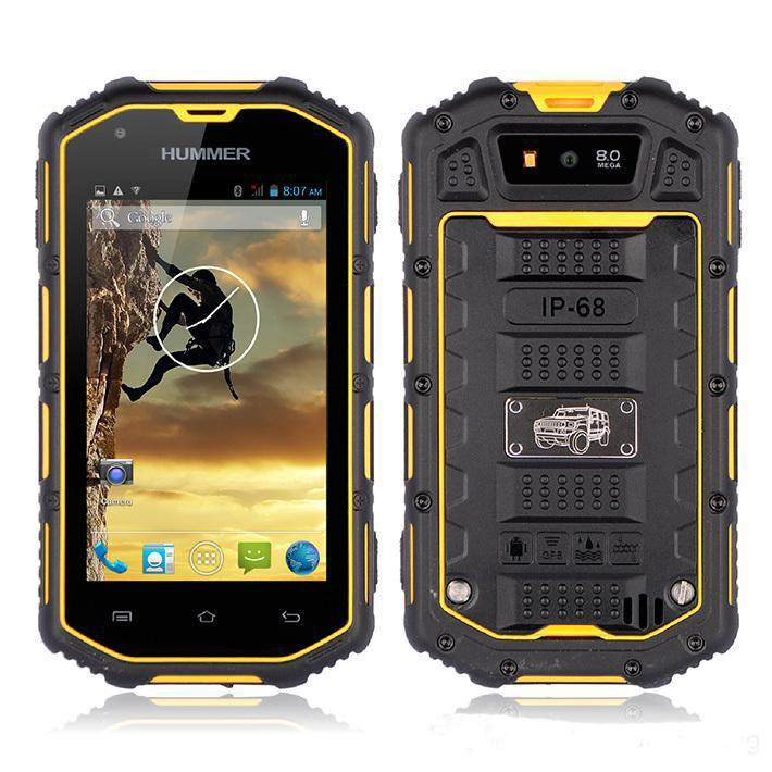 Best Military Manufacturing Dual Sim Humer H5 Smart