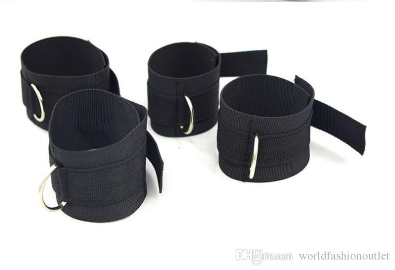Bed Restraint System Underbed Bondage Handcuffs Leg cuffs BDSM Slave Femdom Wrist Ankle Belt Secret Shackles Doss Strap sex Bondage Tools