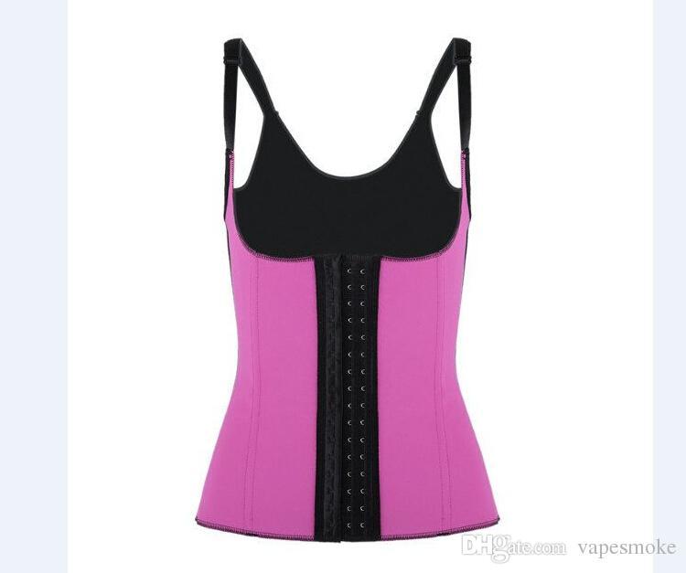 Lady Latex Rubber Corset Entrenamiento de la cintura Corsés Deshuesado de acero Coset Shaperwear Mujeres Latex Rubber Cintura Entrenamiento Cincher 2016