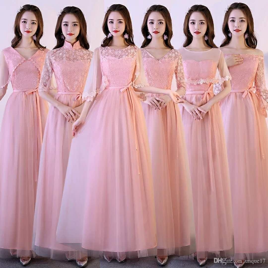 Asombroso Magníficos Vestidos De Damas De Honor Embellecimiento ...