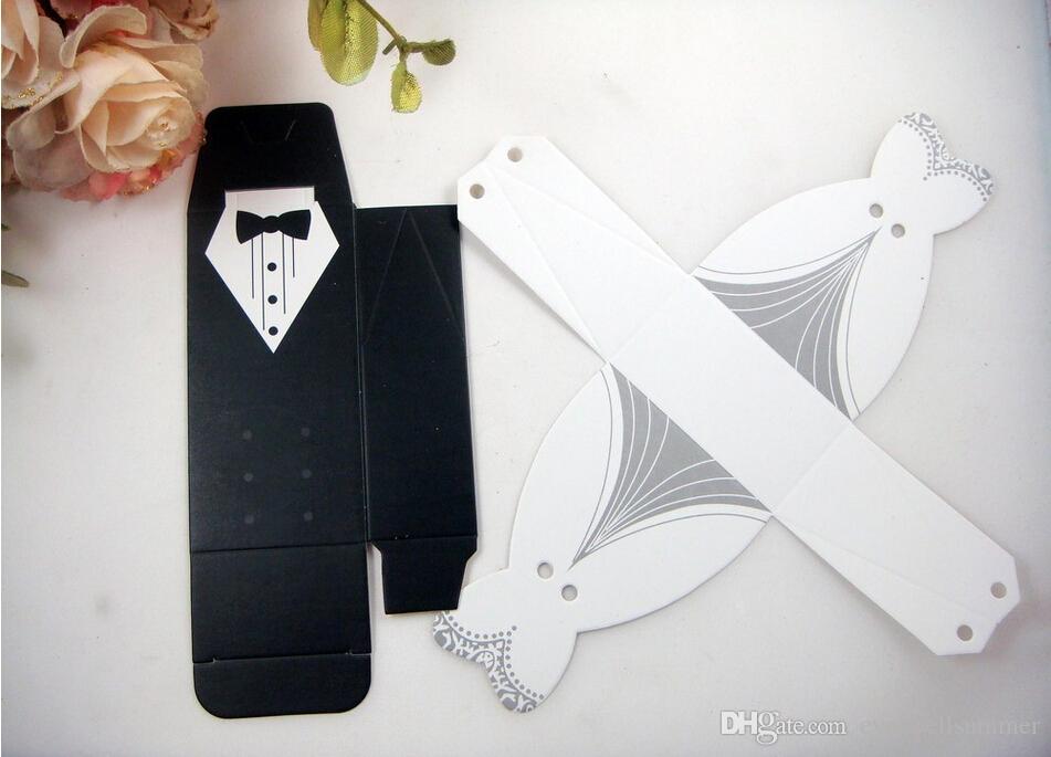 Freie Shipping + New Ankunftsbraut- und -bräutigamkastenhochzeitskästen bevorzugen die Kästen, die Bevorzugungen, = / Wedding sind