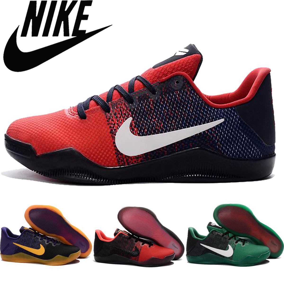 info for ef69b 24dd4 Nike Kobe 11 KOBE XI Low Men Basketball Shoes,Wholesale Original Quality  Kobe Bryant For Mens Sports Shoes Cheap Kobe11 Sneakers Size 7 12 Shoes  Sports ...