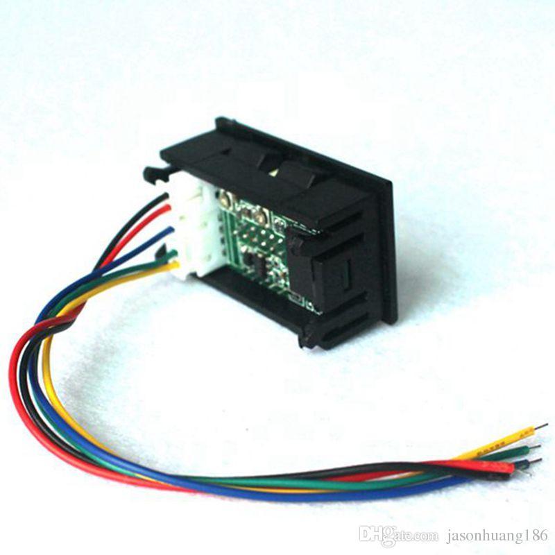 DC 100V / 100A Auto Digital LED Elektrische Ampermeter Voltmeter Ampere Spannung AMP Volt Meter Rot / Blau Display Tester