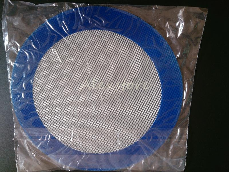 Silicone wax pads dry herb mats large 20cm round or 31*20cm square mat dabber sheets jars dab tool for silicon container vape DHL