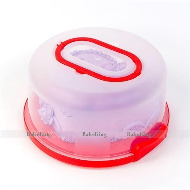 Cake Carriers Cake Server Cake Box Trasportino in plastica