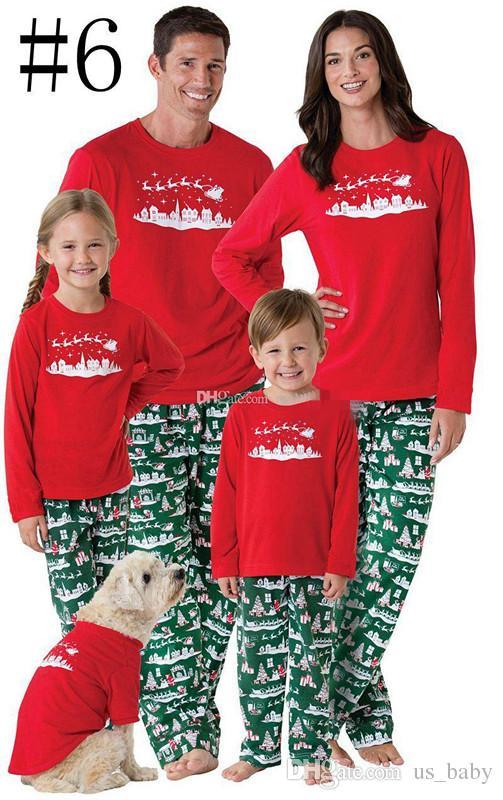 Compre Juego De Pijamas De Navidad A Juego Con La Familia Ninos
