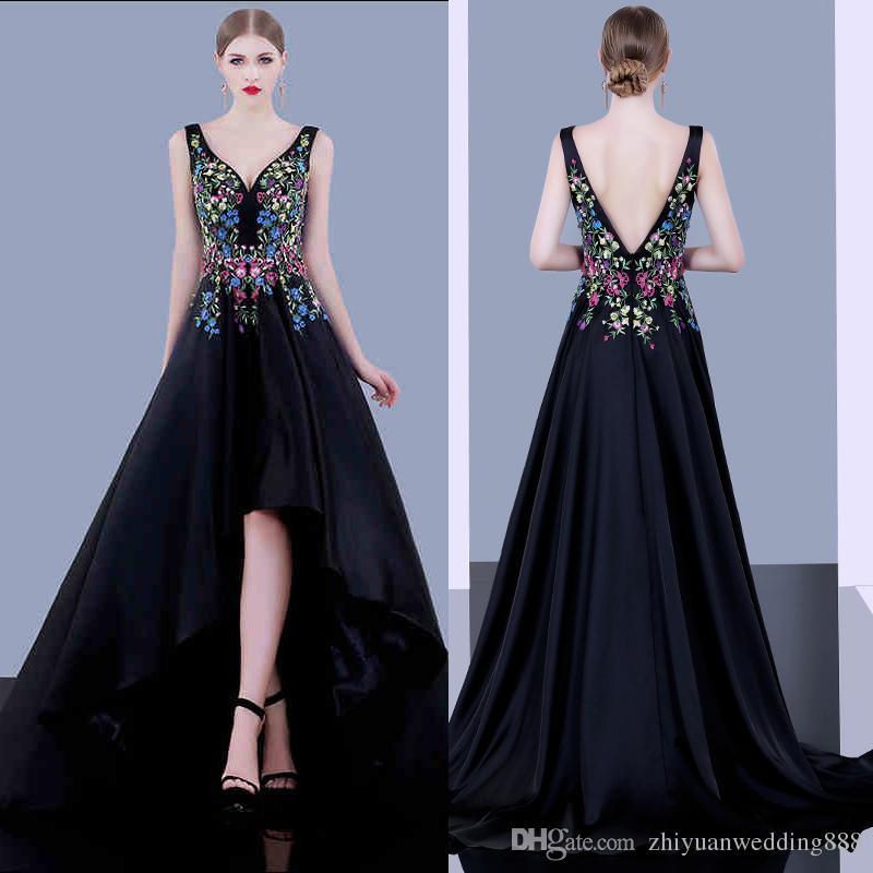 Bordados de vestidos de noche