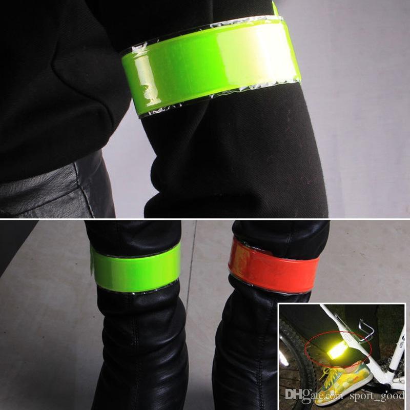 Fahrradausrüstung Fahrrad reflektierende Gurtbänder Mountainbike Leggings Nacht Reiten Sicherheit Warnstreifen zum Verkauf