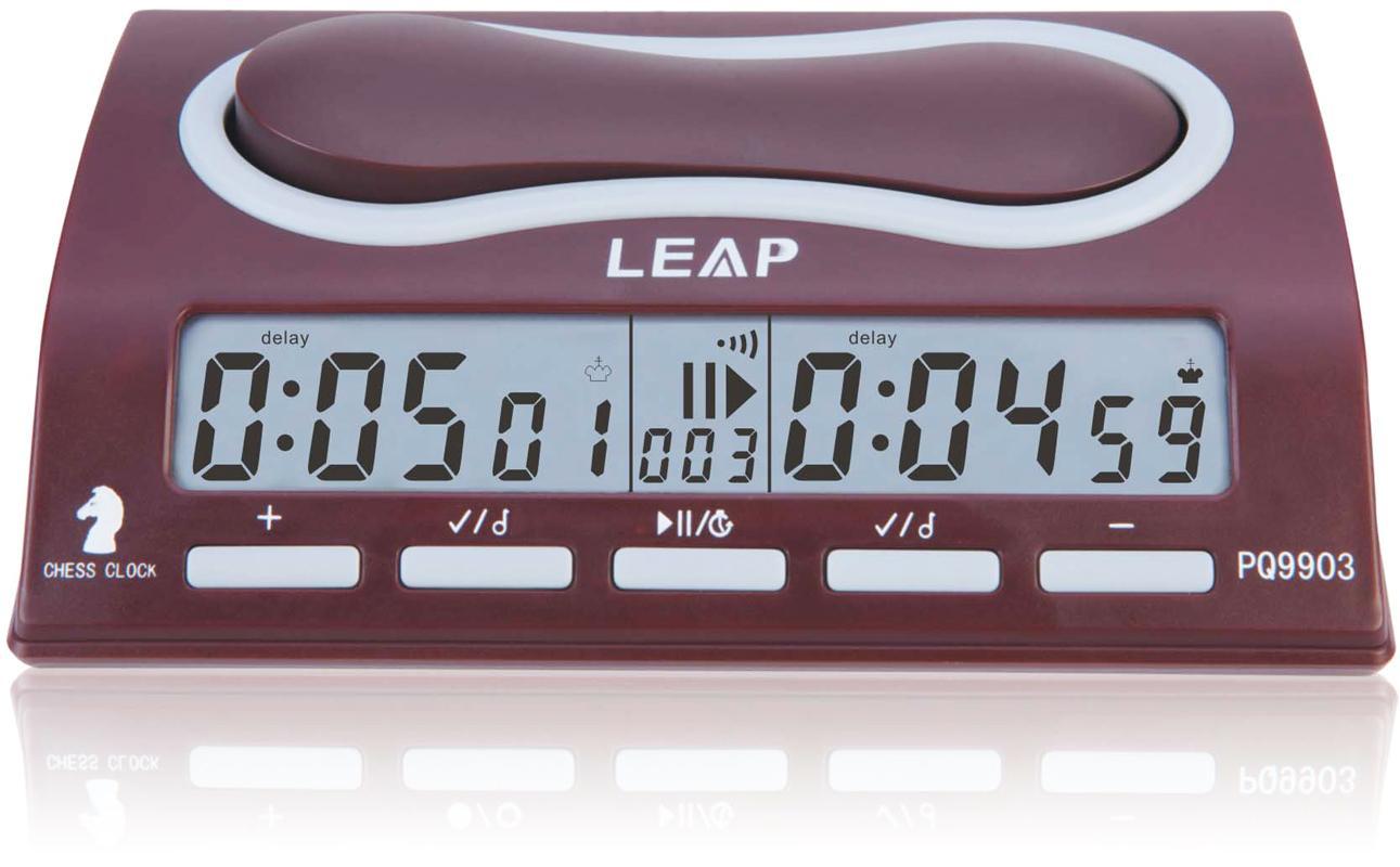 119257d0de5 Compre Leap Temporizador De Relógio De Xadrez Profissional 29 Modos De  Temporização Bônus De Atraso De Contagem Bônus Master Pq9903 De  Unlimited quantity