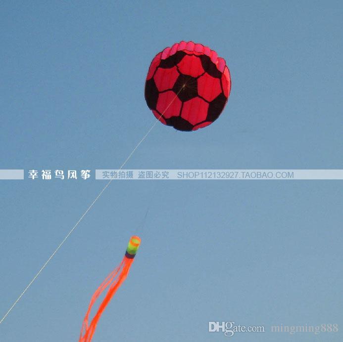 Darmowa dostawa!! Piłka nożna KITE / Stunt Latawiec / Moc Kite + Narzędzie Latające