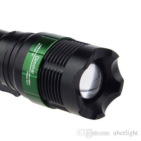 2000Lm CREE XML T6 LED ZOOMABLE Flashlight 3 modes linterna led lampe torche Lanterna bike18650 flash light for working use