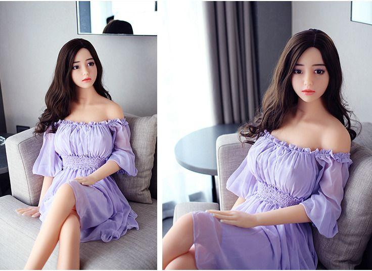 Bambole del sesso del silicone reali mezze reali giapponesi a grandezza naturale Bambola di amore sexy Dolce voce realistico Blow Up Doll Giocattoli adulti del sesso maschile gli uomini