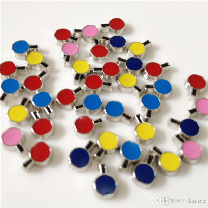 !! Wishing Bottle Floating charms DIY Floating locket Charms Mix Color Fit Floating lockets&Floating locket bracelets FC083