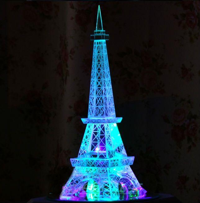 2019 Crystal Tower Paris Eiffel Tower Ornaments Crystal