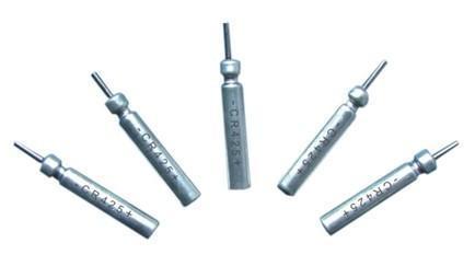100cards  CR425 3v BR425 Pin tipo de litio de la batería de pesca grandes de la calidad