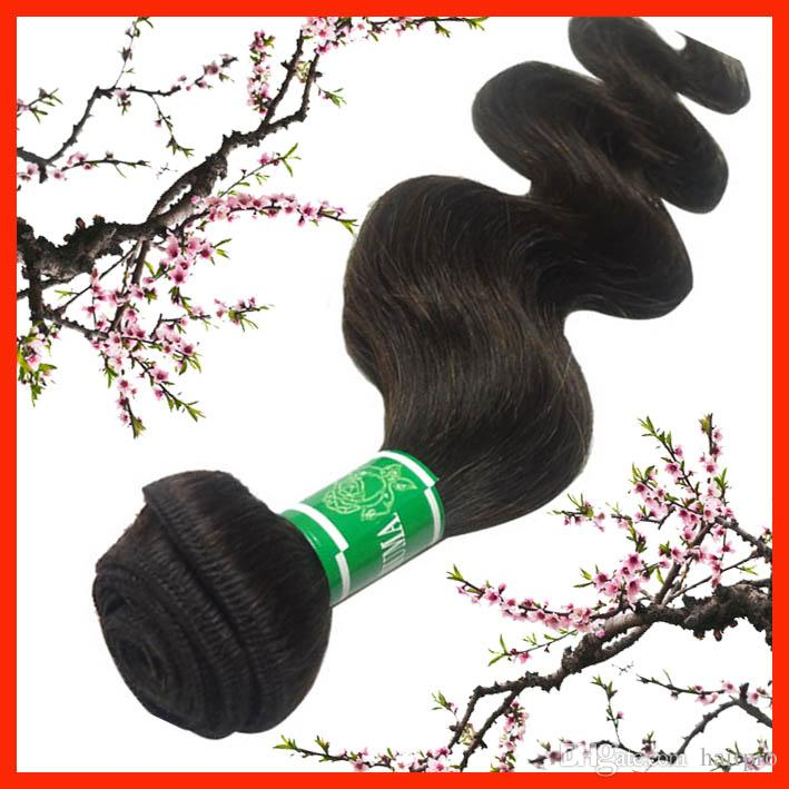 Brazilian Human Hair Weave, Body wave, 12~30inch, Mix Length, Color Dark Brown,100% Human Hair Extension, Express Free Shippin