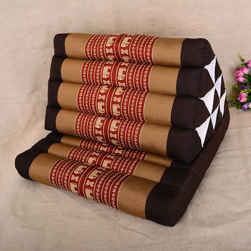 floor cushions. Thailand Imported Yoga Cushions Made Mattress Pillow Cushion Backrest Lumbar Tatami Mat Floor Bay Window Triangle Sunbrella Papasan Chair
