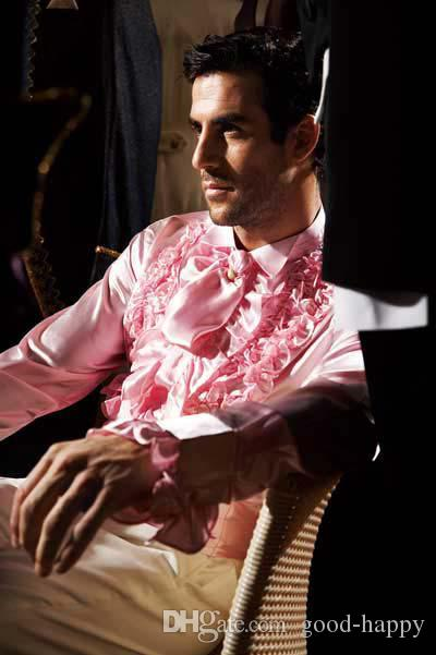 New arrival wedding Bridegroom shirts Hot sale long sleeves formal party prom men shirts High quality groomsmen evening shirts NO:16