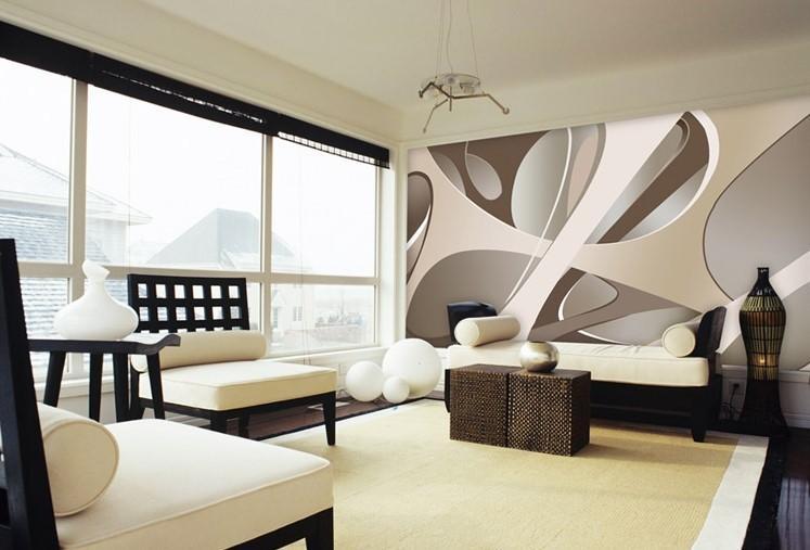 3d wallpaper european minimalist bedroom living room tv backdrop