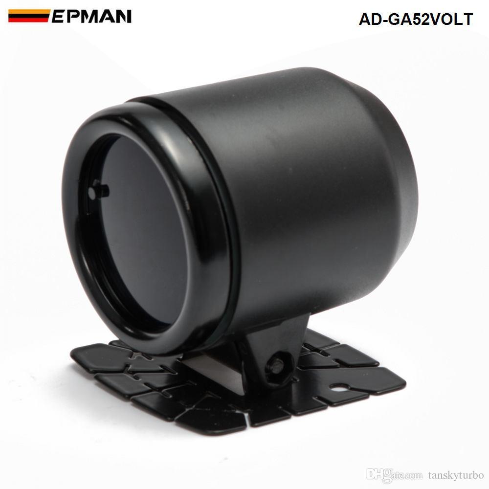 """2"""" 52mm LED Smoke Face Voltmeter Volt Gauger With Sensor Car meter Auto Gauge AD-GA52VOLT"""