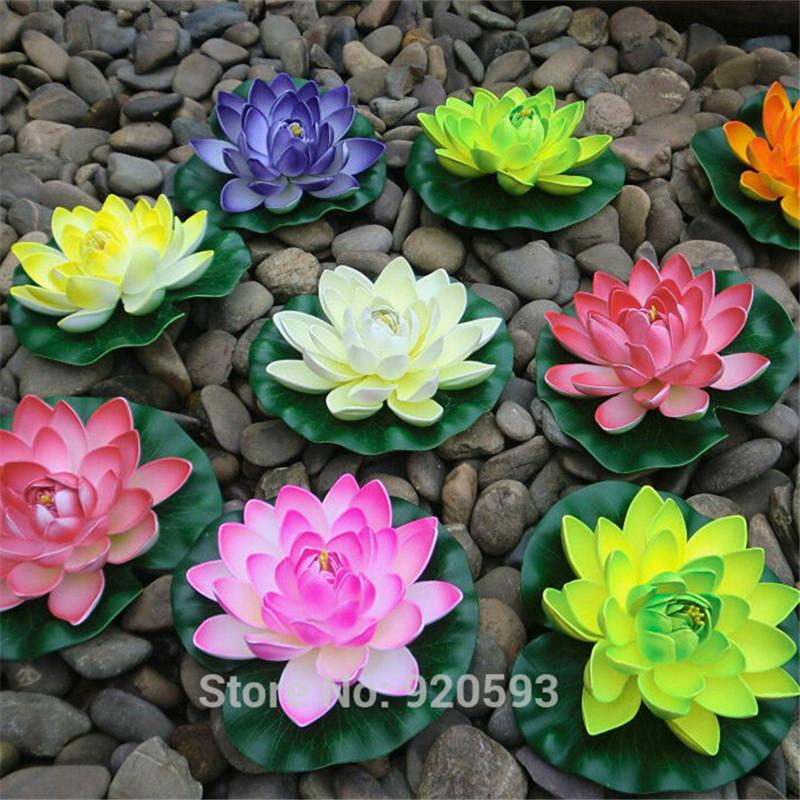 2018 new arrive 10cm eva real look flowers artificial silk flower 2018 new arrive 10cm eva real look flowers artificial silk flower lotus pond decorate home decoration from angela0618 065 dhgate mightylinksfo