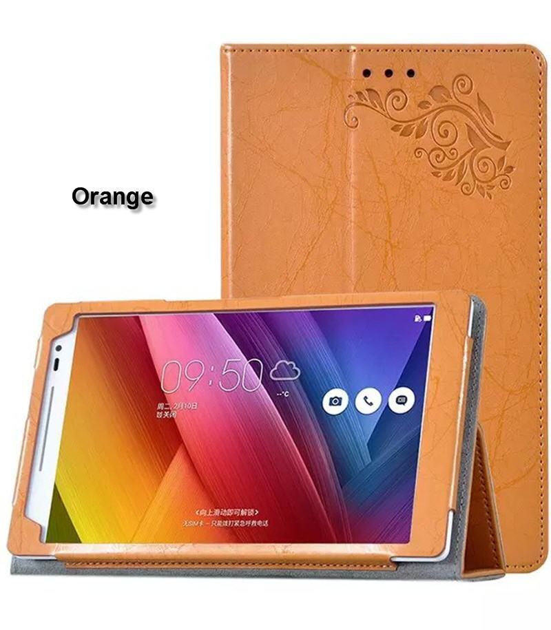 Luxury Flower Printed PU Leather Case for ASUS ZenPad 8.0 Z380C Z380KL Z380 Tablet 8 inch Cover + Screen Protector Protective Film